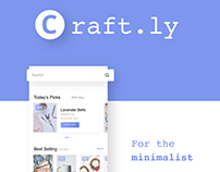 Craft.ly (Mobile UX/UI)