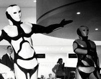 Robot costumes for LEXUS