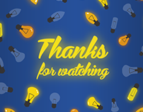 Thanks for Watching | Animated Gif