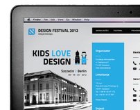Design Festival Szczecin website