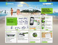 Cosmote.gr Redesign.