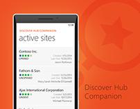 Microsoft Discover Hub Companion