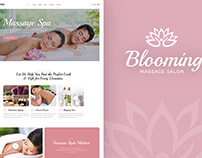 Blooming – Spa and Beauty Shop WordPress Theme