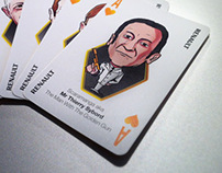 Renault Playing Cards