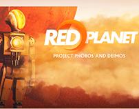 Projeto Red Planet - 3D modeling, Game Design