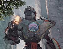 Daloc, The robot