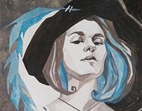 Self-portrait as Jilles de Retz