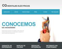 Web - CQ Montajes Eléctricos