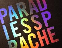 """""""Paradiessprache"""" Artist's book"""