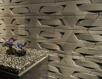 Dimensions Wall Tile by DEX