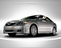 Toyota.com Camry 2007 Experience Site.