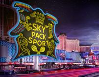 Sky 3d rendering