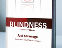 'Blindness' & 'Seeing' Book Cover Mockups