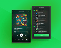 Spotify: Multiple Playlists