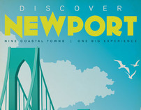 Discover Newport Cover Illustrations