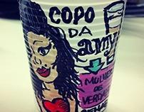 BIO FUNNY PLASTIC CUPS
