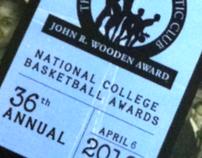 John R. Wooden Award Magazine Design