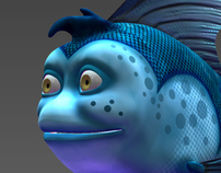 CG Cartoon Fish
