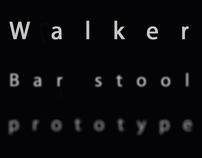 Walker - Concept of Bar Stool.