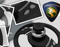 Proton project steering wheel for Gen 2
