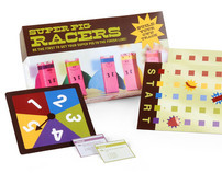 Super Pig Racers! Board Game