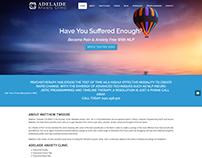 Adelaide Anxiety Clinic ~ Webfolio