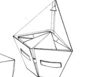 Cardboard Chair Flat-pack design