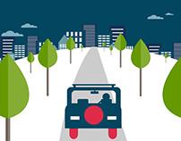 Journey Cars Animation