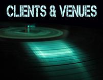 DJ CLIENTS & VENUES