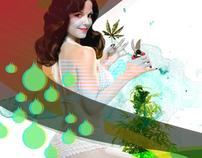 plant woman