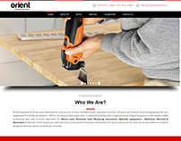 Website for Hardware Retails and service Company