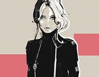 fashion sketces №4