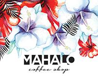 Summer Theme Design: Mahalo Coffee Shop
