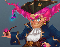 Pirate's world concept art for contest (a lot of arts)