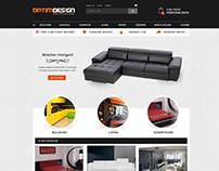 OPTIMDESIGN - Furniture manufacturer website