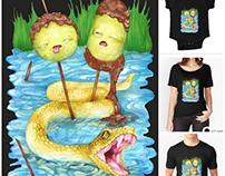 Princess Bubblegum's favourite tee-shirt