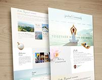 Spiritual Community - Web Design