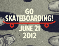 Go Skateboarding Day Poster