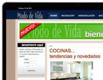 Revista Modo de Vida Web Site
