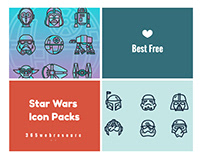 Best Free Star Wars Icon Packs For Star Wars Fans