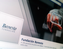 Social Media Channels for Banesto Fundation Projects