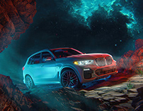 BMW X5 Campaign Imagery