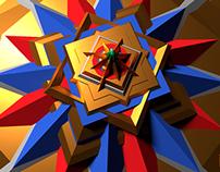 3D Mandala 01