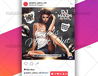 Girls Night Out – Animated Flyer PSD Template