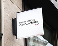 Clinica Dentária Marta Sancho · Identidade Corporativa