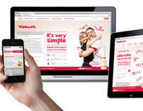 Yakult UK & Ireland website redesign