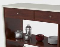MESA AYUDANTE PARA COCINA - Kitchen auxiliary table