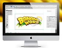 BANANA WARS // Logotype Design