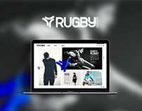 Rugby Division - Webdesign site ecommerce