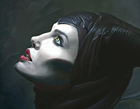 Maleficent Digital Painting